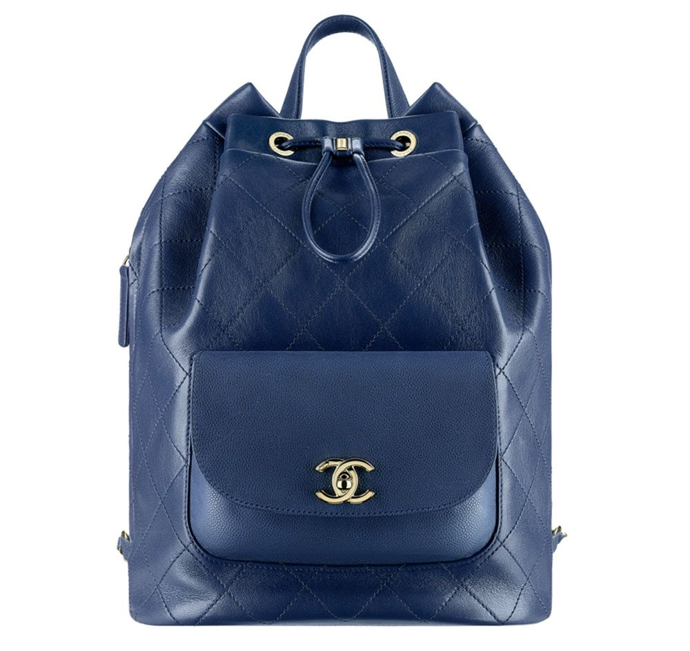 Chanel-Backpack-Blue-3800$