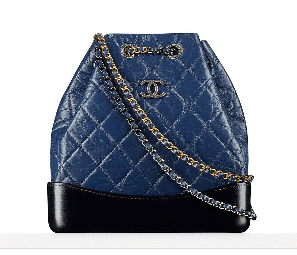 Chanel-Gabrielle-Backpack-Blue-3000
