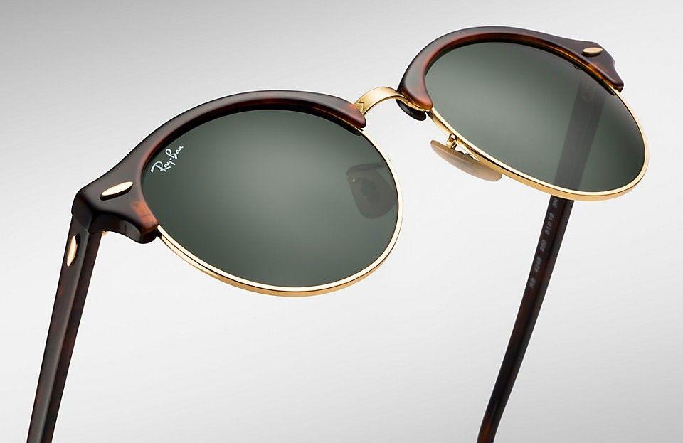 d07b081fae1463 Ray- Ban Clubround dostupan je u predprodaji preko online shopa (www.ray-ban.com)  u dvije boje- crnoj i boji kornjačevine (smeđa s uzorkom).