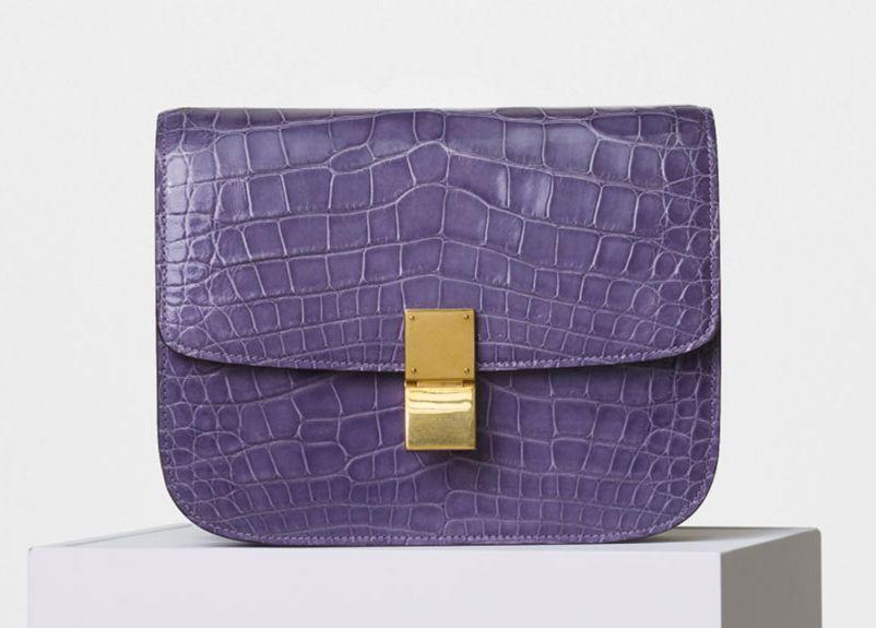 Celine-Crocodile-Classic-Box-Bag