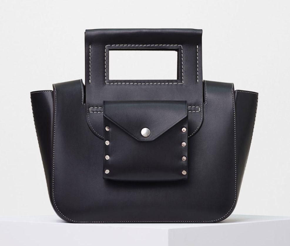 Celine-Small-Square-Shoulder-Bag-Black-2800