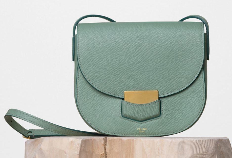 Celine-Small-Trotteur-Shoulder-Bag-Jade-1850