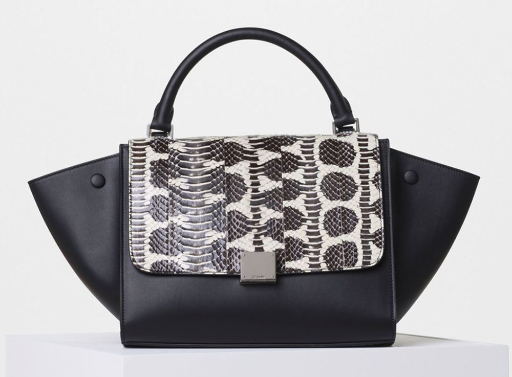 Celine-Watersnake-Small-Trapeze-Bag-3750