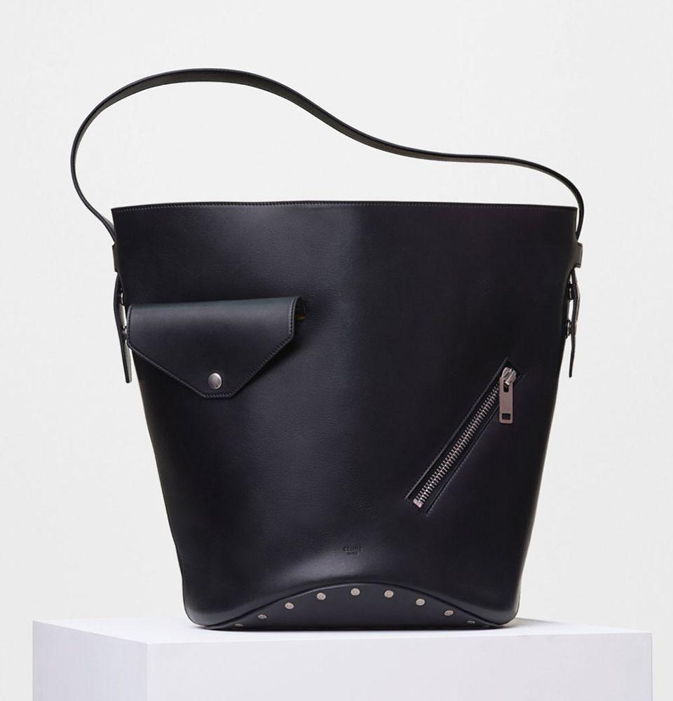 aaaCeline-Biker-Bucket-Bag-Black-3400