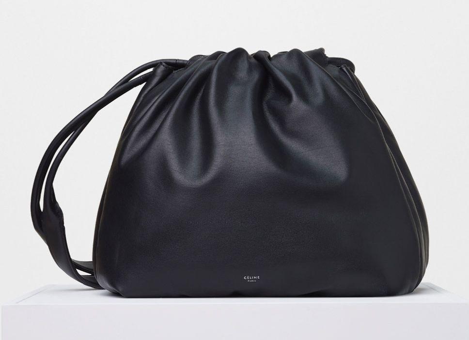 aaaCeline-Bucket-Pillow-Shoulder-Bag-Black-2800