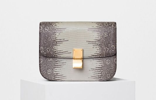Celine-Classic Box Bag-Lizard-6800$