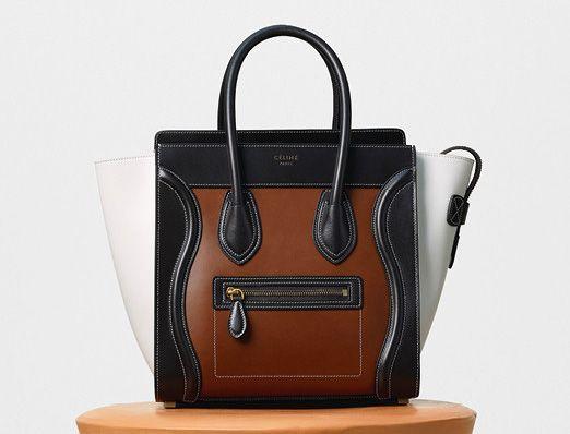 Celine-Micro Luggage Tote-Tan-3350$