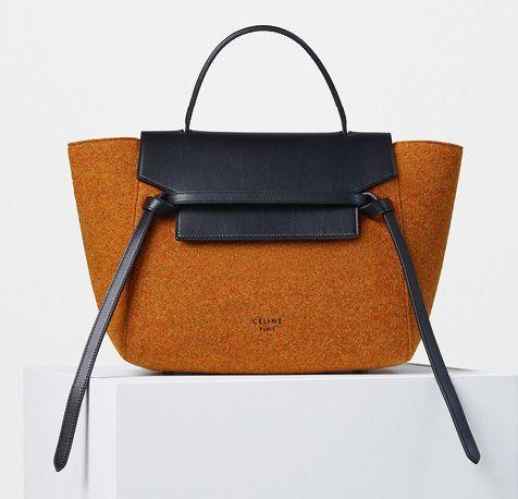 Celine-Mini-Belt-Bag Felt Orange-2200$