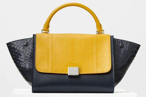 Celine-Small Trapeze Bag-Python-4500$