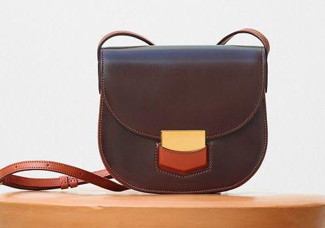 Celine-Small Trotteur Bag-Burgundy-2100$
