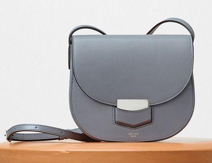 Celine-Small Trotteur Bag-Gray-2250$