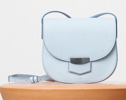 Celine-Small Trotteur Bag-Pale-Blue-1850$