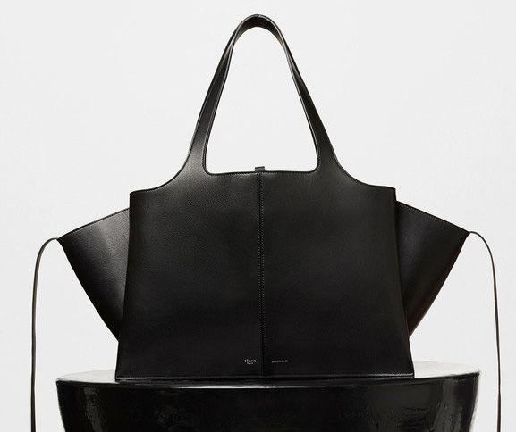 Celine-Tai Fold Shoulder Bag Black 3400$