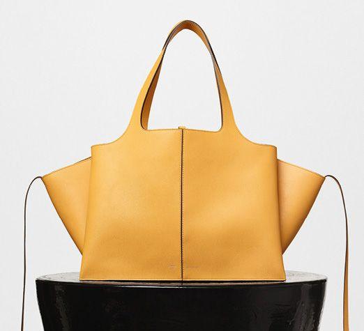 Celine-Tai Fold Shoulder Bag Yellow 3400$