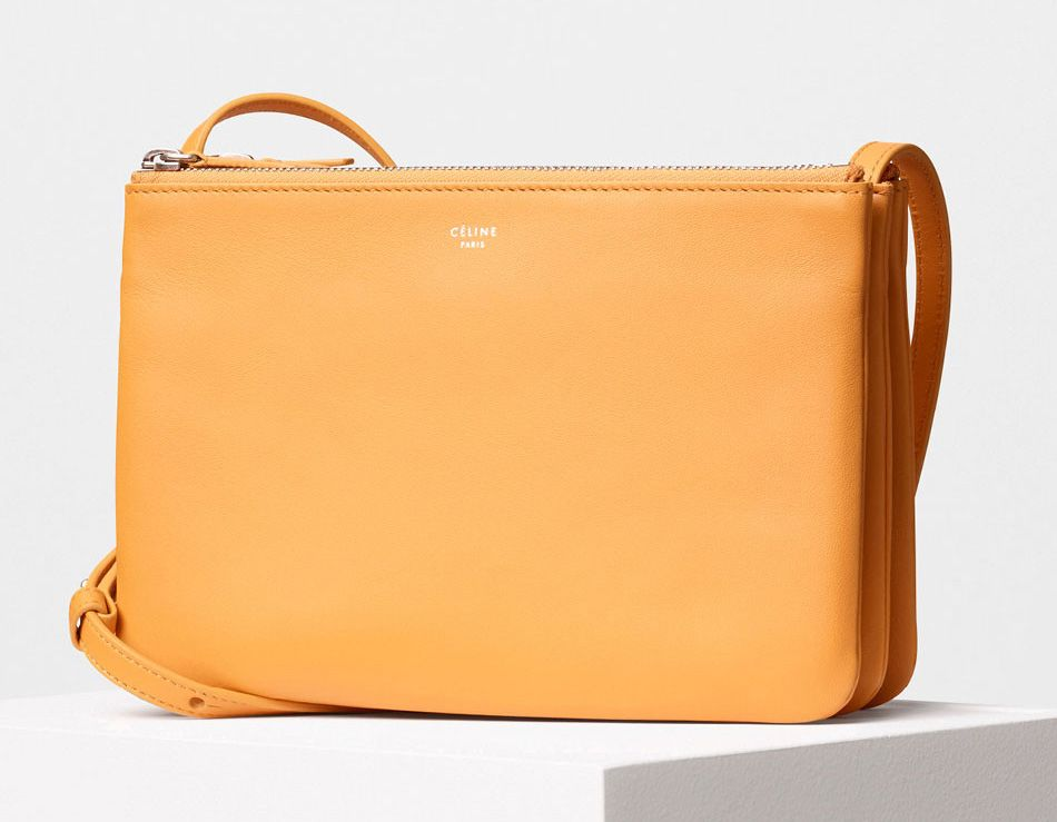 Celine-Trio Bag Yellow 1100$