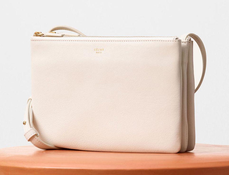 Celine-Trio Shoulder Bag Ivory 1150$