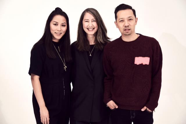Carol Lim, Ann-Sofie Johansson i Humberto Leon- kreativni direktori iz Kenza