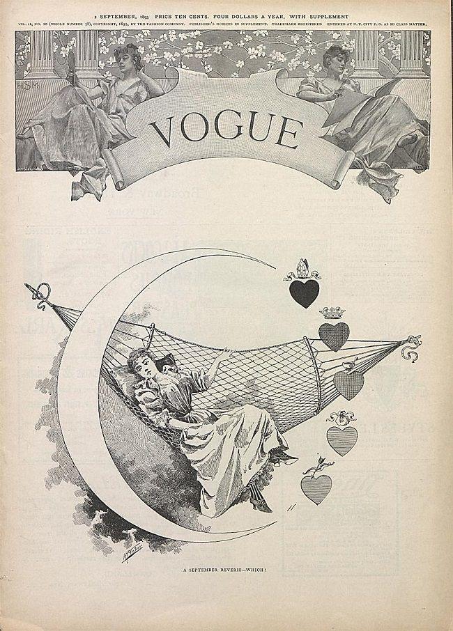 Prvo rujansko izdanje Voguea