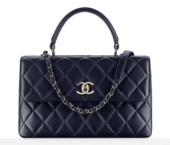 Chanel-Top-Handle-Flap-Bag-Navy-6100
