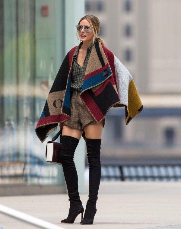 olivia-palermo-new-york-city-burberry-prorsum-cape-stuart-weitzman-boots