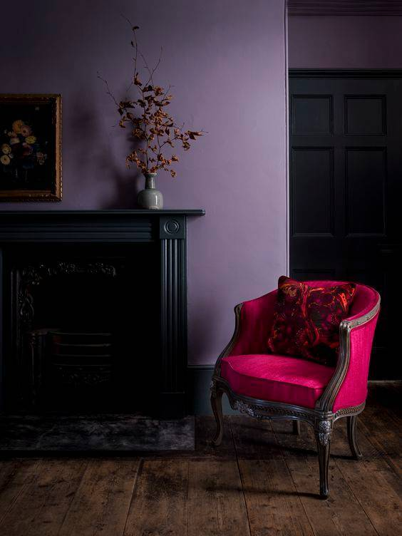 benjamin-moore-announces-their-2017-color-of-the-year-benjamin-moore-color-of-the-year-purple-living-room-with-pink-chair-58078316eeb90a08340c5c5c-w1000_h1000