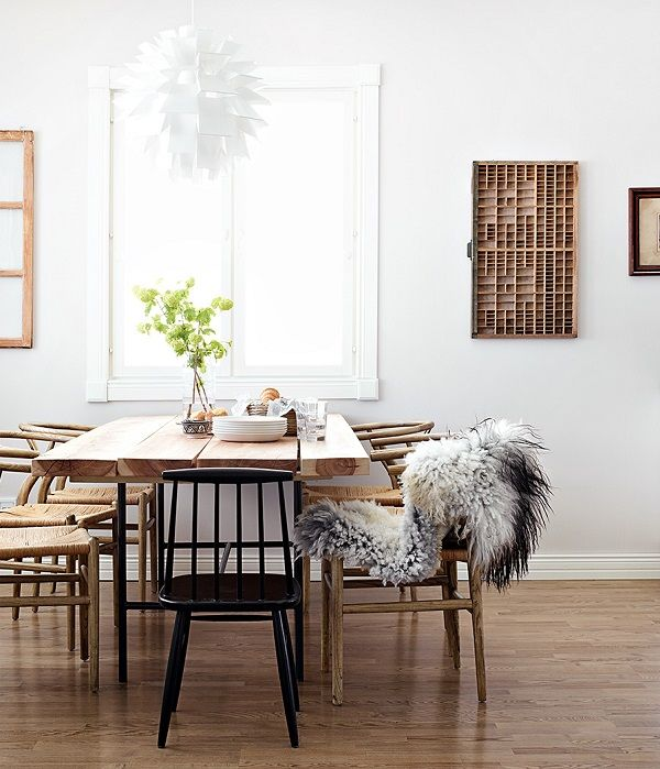 Scandinavian-dining-room-Wishbone-chairs-photo-Krista-Keltanen