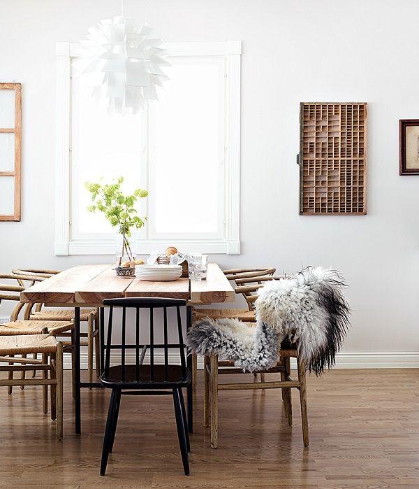 Scandinavian-dining-room-Wishbone-chairs-photo-Krista-Keltanen