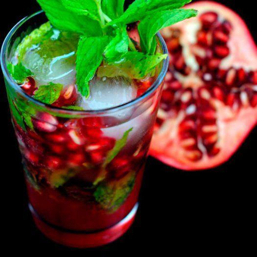 pomegranate-mojito-cocktail