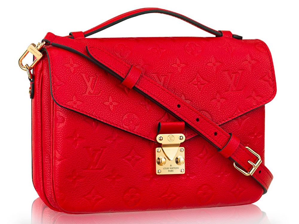 Louis-Vuitton-Pochette-Metis-Monogram-Empreinte-Red