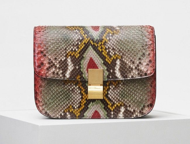 Celine Classic Box Phyton-5600$